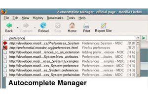 Ilustración de Como modificar la lista de autocompletar en Firefox 3