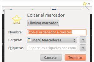 Cómo añadir palabras clave a los marcadores de Firefox
