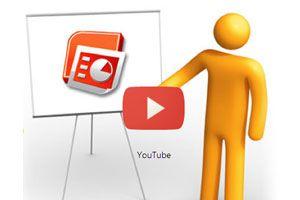 Ilustración de Cómo Subir una Presentación en PowerPoint a YouTube