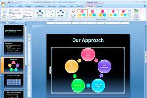 Ilustración de Como subir una presentaci&oacuten Powerpoint a internet
