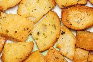 Cómo preparar pan frito. Pan frito saborizado.
