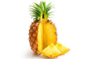 Ilustración de Cómo elegir una piña o ananá