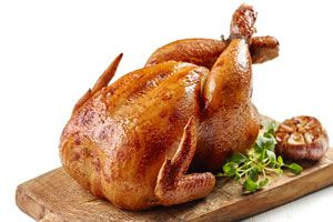 Ilustración de Cómo Adobar un Pollo