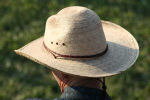 Ilustración de Cómo limpiar sombreros de paja