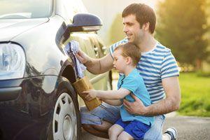 Ilustración de Como mantener y cuidar la Pintura del Auto
