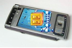 Ilustración de Cómo abrir archivos ZIP en móviles Nokia NSeries y otros