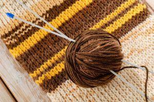 Ilustración de Como elegir la aguja para tejer según la lana o hilo
