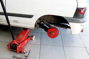 Ilustración de Cómo controlar los amortiguadores del auto