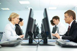 Ilustración de Cómo comportarse en la Oficina o Trabajo