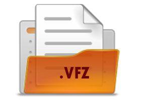 Ilustración de Como abrir archivos VFZ