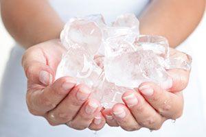 Ilustración de Cómo hacer un recipiente de hielo