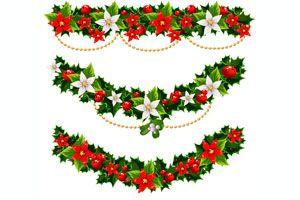 Ilustración de Cómo decorar con guirnaldas en Navidad