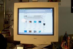 Ilustración de Cómo limpiar un monitor CRT