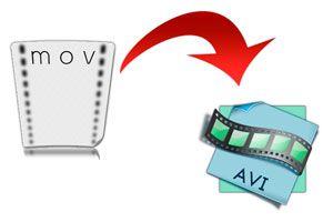 Ilustración de Cómo convertir videos MOV a AVI