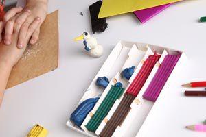 Ilustración de Cómo preparar plastilina