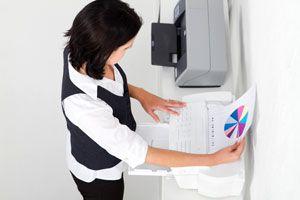 Ilustración de Cómo hacer para ahorrar tinta al imprimir