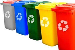 Ilustración de Cómo disponer la basura ecológicamente