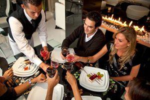 Ilustración de Cómo comportarse en una cena formal