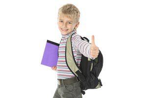 Ilustración de Qué hacer cuando un niño no quiere ir a la escuela