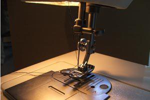 Ilustración de Qué hacer si la máquina de coser no funciona