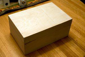 Cómo transformar una caja de zapatos en una caja de recuerdos