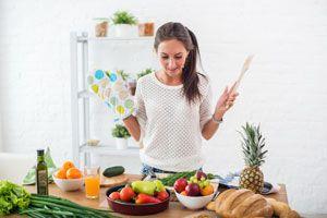 Ilustración de Consejos para comer menos grasas