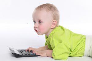 Ilustración de Cómo estimular a un bebé de 6 meses
