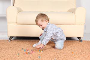 Ilustración de Cómo estimular a un bebé de 9 meses
