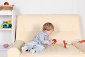 Ilustración de Cómo estimular a un bebé de 10 meses
