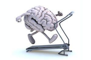 Ilustración de Cómo Mantener el Cerebro Activo y en Buena Forma