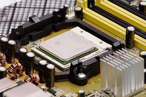 Ilustración de Cómo instalar un microprocesador