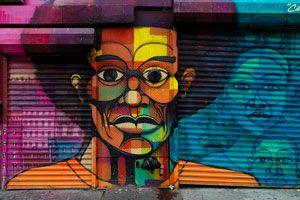 Ilustración de Cómo apreciar un graffiti