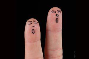 Ilustración de Cómo hacer títeres para dedos