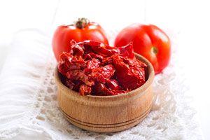 Ilustración de Cómo preparar tomates secos