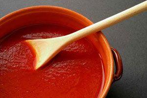 Ilustración de Cómo preparar puré de tomate