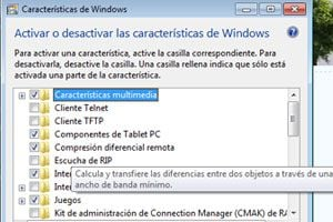 Ilustración de Como desactivar la compresión diferencial remota en Windows Vista