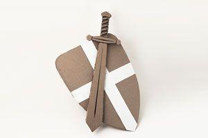 Ilustración de Cómo hacer una espada de cartón