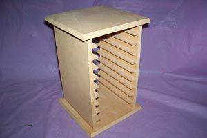 Ilustración de Cómo hacer un porta CD de madera
