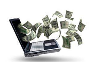 Ilustración de C&oacutemo hacer dinero por medio de un blog