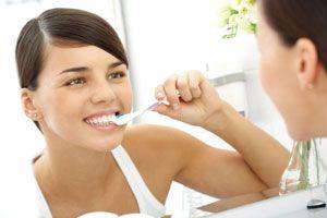 Ilustración de Cómo cuidar los dientes las personas con diabetes