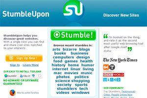 Ilustración de Qué es y cómo utilizar StumbleUpon