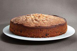 Ilustración de Cómo preparar torta de pan y chocolate