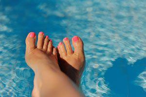 Ilustración de Cómo hidratar los pies