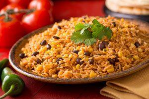 Ilustración de Cómo preparar Rice And Beans con Coco