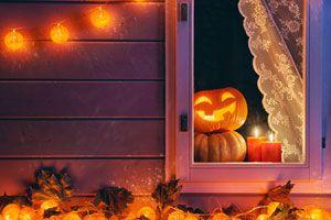 Ilustración de Cómo decorar una casa en Halloween