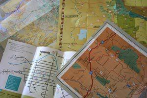 Ilustración de Cómo utilizar un mapa