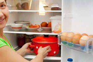 Ilustración de Cómo mantener los productos refrigerados
