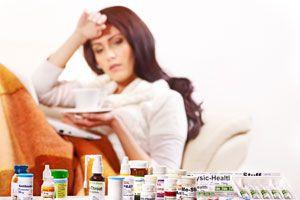 Ilustración de Cómo comprar un remedio para la gripe