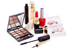 Ilustración de Como hacer un kit de maquillaje