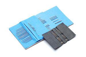 Ilustración de Cómo guardar las agujas de coser para que se conserven inalterables